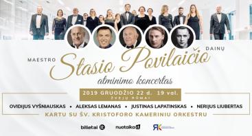 Stasio Povilaičio dainų atminimo koncertas su orkestru