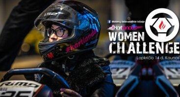 Kartingo varžybos MOTERIMS - Women Challenge