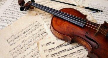 """Vakaras su muzika: """"Gražiausios smuiko melodijos"""""""