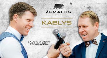 """Nemokamas muzikinis vakaras su grupe """"Kablys"""""""