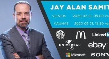 Jay Samit: Milijardų dolerių sėkmės strategijos | Vilnius