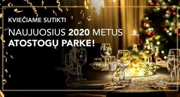 2020 metų sutikimas Atostogų parke!