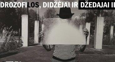 """Beno Šarkos fotografijų paroda """"Drozofilos, didžėjai ir džedajai - II"""""""