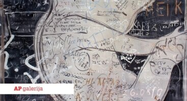 """Dita Lūse I Tapybos darbų paroda """"Branduolys"""""""