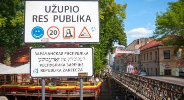 Ekskursija: patyriminė kelionė per Vilniaus Užupį