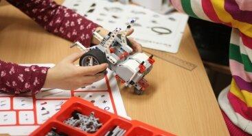 Atviros kūrybinės dirbtuvėlės vaikams: LEGO ir 3D realybė