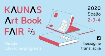 Kaunas Art Book Fair 2020