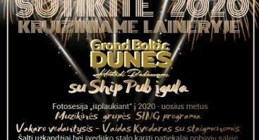 "Naujieji metai ""Grand Baltic Dunes"" Palangoje"