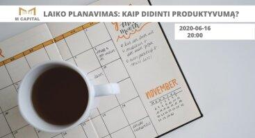 Laiko planavimas: kaip didinti produktyvumą? Palanga