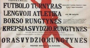 """Dokumentų parodos ,,Sporto sąjūdis Laikinojoje sostinėje"""" atidarymas"""