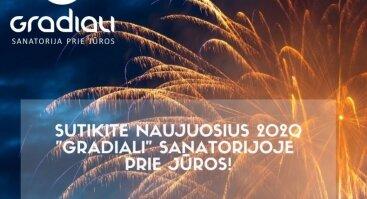 SUTIKITE NAUJUOSIUS 2020 SANATORIJOJE GRADIALI PRIE JŪROS