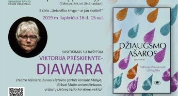 Susitikimas su Viktorija Prėskienyte-Diawara