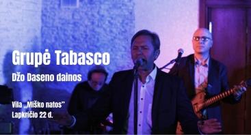 Grupė Tabasko, Džo Daseno dainos viloje Miško natos