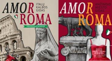 """Dviejų knygų """"AmorRoma"""" pristatymas"""