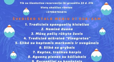 12 Patiekalų šv. Kūčių vakarienė / Traditional Lithuanian Christmas Eve