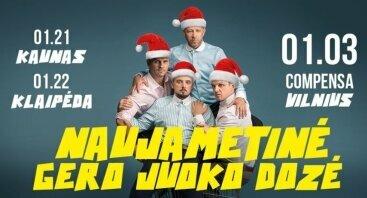 """Improvizacijos teatras KITAS KAMPAS: Naujametinė """"Gero juoko dozė"""""""