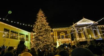 Kalėdų Eglutės Įžiebimas Klaipėdoje