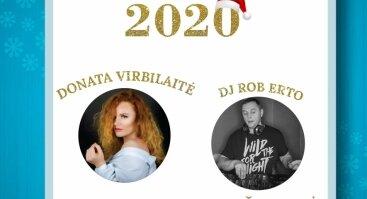 2020 METŲ SUTIKIMO PROGRAMA IR MENIU TIK 59 EURAI ŽMOGUI