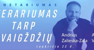 Literariumas tarp žvaigždžių: Aldona Vilutytė ir Zala