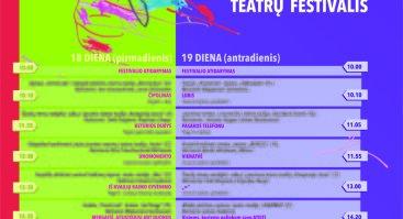 """III tarptautinis vaikų ir jaunimo teatrų festivalis ,,VIVO AVANSCENA"""""""
