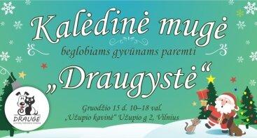 """Kalėdinė Mugė Beglobiams Paremti 2019 """"Draugystė"""""""