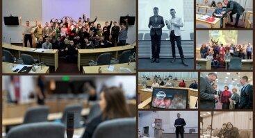 200-tasis klubo Toastmasters Kaunas viešojo kalbėjimo renginys