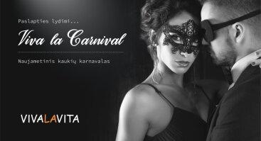 Naujametinis kaukių karnavalas Viva la Carnival