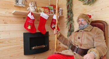 Susitik gyvai su tikru Kalėdų seneliu