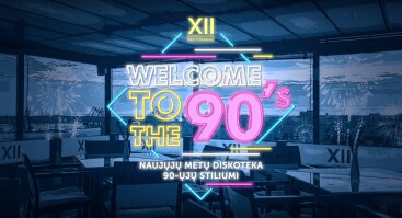 Naujųjų metų diskoteka 90-ųjų stiliumi