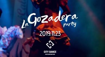 """CITY DANCE"""" kviečia persikelti į Pietų Amerikos žemyną, pasinerti į """"La Gozadera"""" - vakarėlį kubietiškos salsos, bachatos ir kizombos ritmu!"""