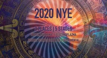 2020 NYE // One Night Music Festival // 5 stages