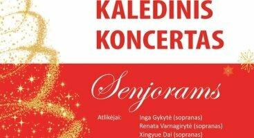 Kalėdinis koncertas Senjorams