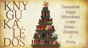 """Knygų Kalėdos kartu su """"Fluxus Labas!"""" Garliava!"""