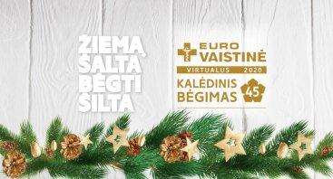 """Virtualus """"Eurovaistinės Kalėdinis bėgimas 2020"""""""