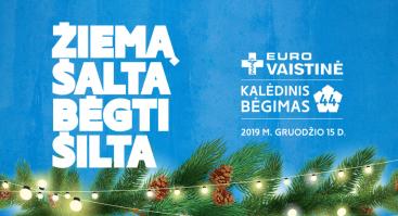 """""""Eurovaistinės Kalėdinis bėgimas 2019"""""""
