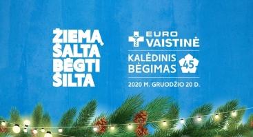 """""""Eurovaistinės Kalėdinis bėgimas 2020"""""""