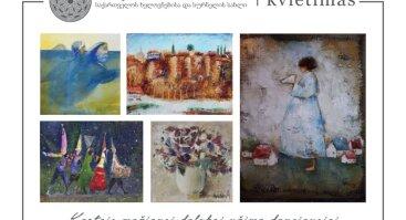 """Gruzijos tapytojų paroda """"Žemiški stebuklai"""""""