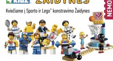 Sporto ir Lego žaidynes 6-9 m. vaikams