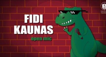 FiDi Kaunas: Open Mic