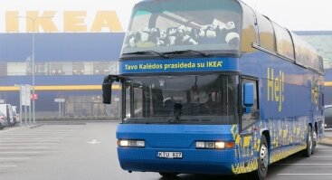 Šventinė kelionė IKEA Kalėdų autobusu