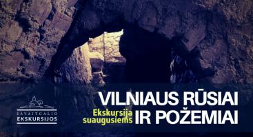 Vilniaus rūsiai ir požemiai: ekskursija suaugusiems