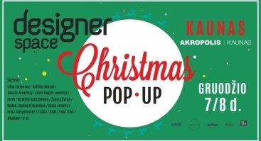 Designer Space / Christmas Pop • Up
