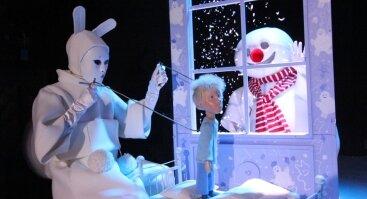 """Lėlių spektaklis """"Išmintingasis Besmegenis"""""""
