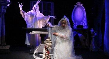 """Lėlių spektaklis """"Kalėdinės angelų paslaptys"""""""