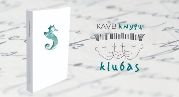 """KAVB knygų klubas: knygos """"Laiškai hipokampui"""" pristatymas"""