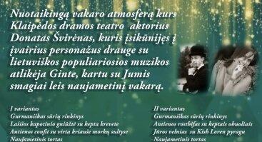 """Smaragdinis Naujųjų metų sutikimas ,,Senojoje Hansoje"""""""