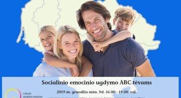 Socialinio emocinio ugdymo ABC tėvams