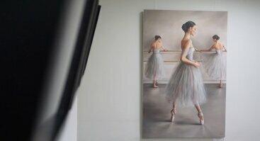 Klasikinio realizmo ateljė   Stiklo ir metalo plastikos paroda