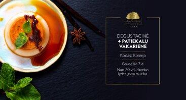 Ispaniška 4 patiekalų vakarinė HARMONY PARK