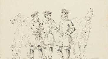 Vincento Smakausko naujai atrastų XIX a. piešinių paroda